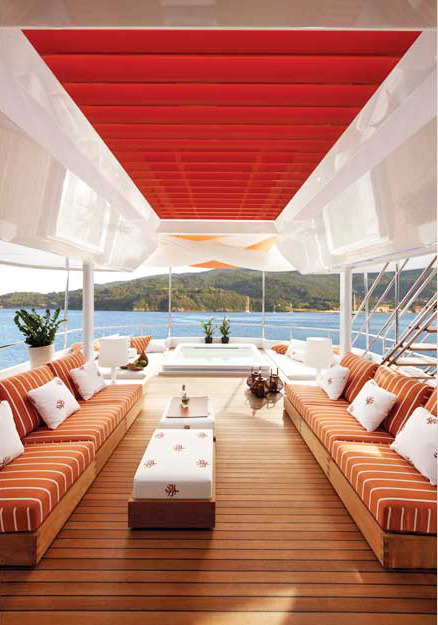 Art Line Yacht Interior Design : Lifesaga m refit mides design